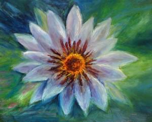lila ljiljan